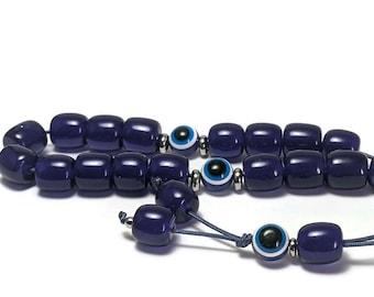 Greek Komboloi - Evil eye worry beads - Greek gift