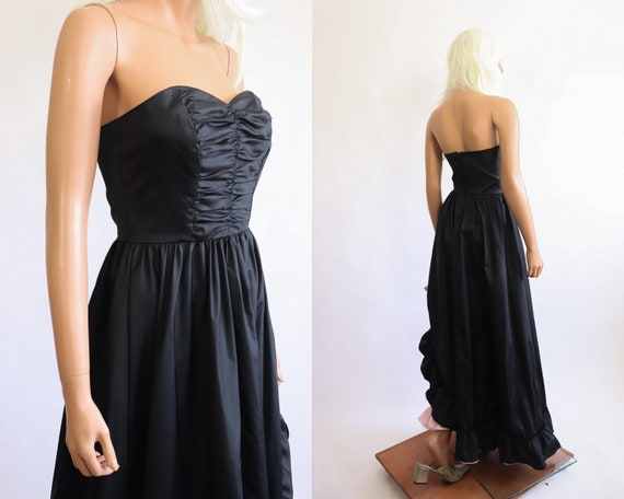 Iconic Princess Gown 70s Victorian 80s Party Dres… - image 10