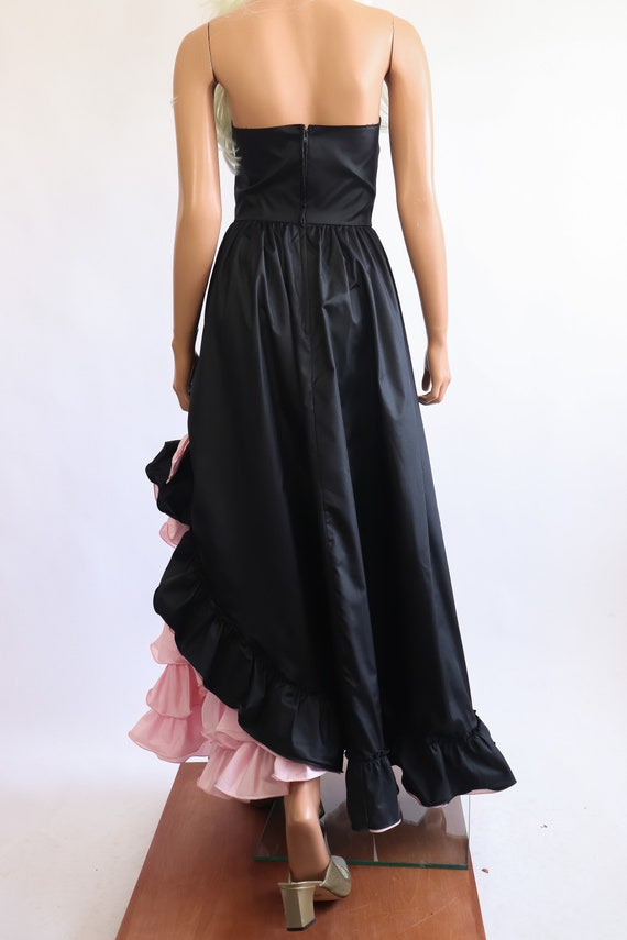 Iconic Princess Gown 70s Victorian 80s Party Dres… - image 9