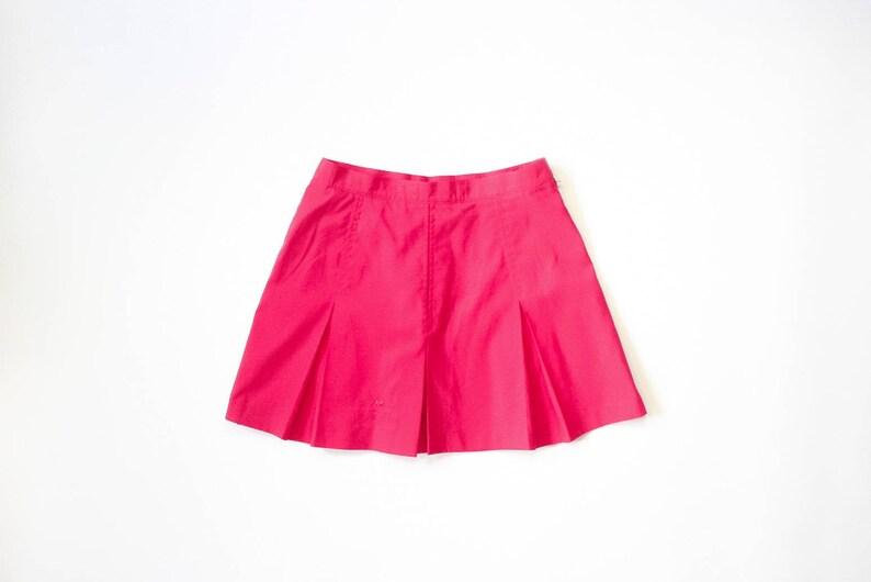 b1a4d0fe7a9e Le Coq Sportif Barbie Pink Tennis Skirt 90s Pleated Mini Skirt
