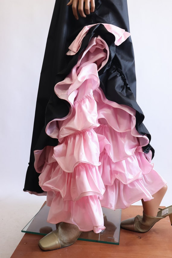 Iconic Princess Gown 70s Victorian 80s Party Dres… - image 8
