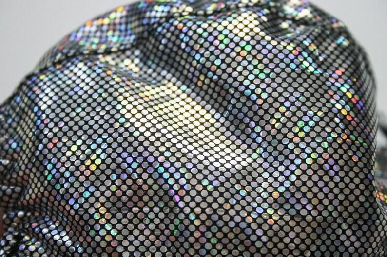859077977ea90 90s Iconic Hologram Bra Glitter Goth Bralette Holographic