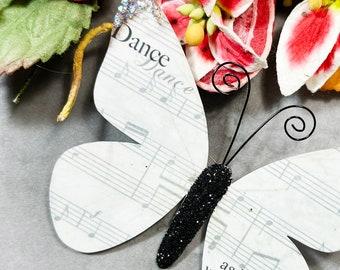 Butterfly Embellishments Dance