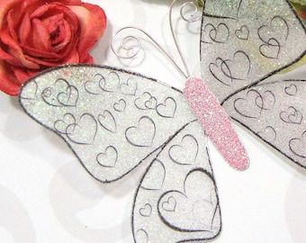 Glass Butterfly Embellishments G13