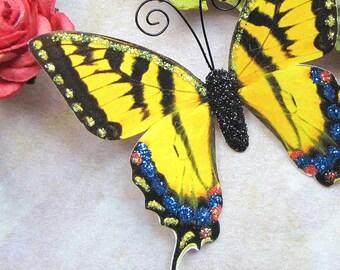 Butterfly Embellishments Sunshine