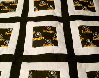Pittsburgh Steelers Baby Quilt
