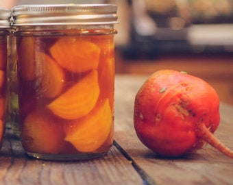 Sweet Canned Golden Beets from Denise's Delectables Bakery