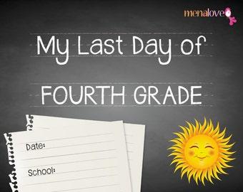 Last School Day - Fourth Grade
