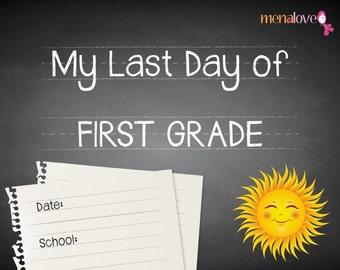 Last School Day - First Grade