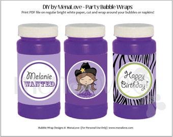 DIY - Bubble Bottle Wraps - Cowgirl Diva