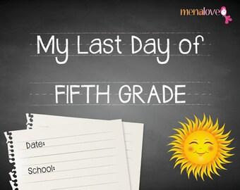 Last School Day - Fifth Grade