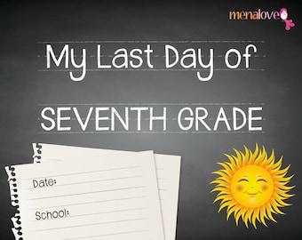 Last School Day - Seventh Grade