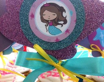 Mermaid Birthday - DIY Full Birthday Collection