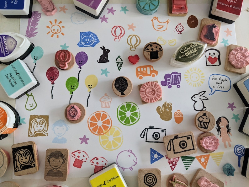 Beginner Rubber Stamp Carving Kit Learn to carve your own stamps