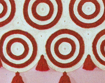 Instant Download Pdf Vintage Crochet Pattern For Colour Color Etsy