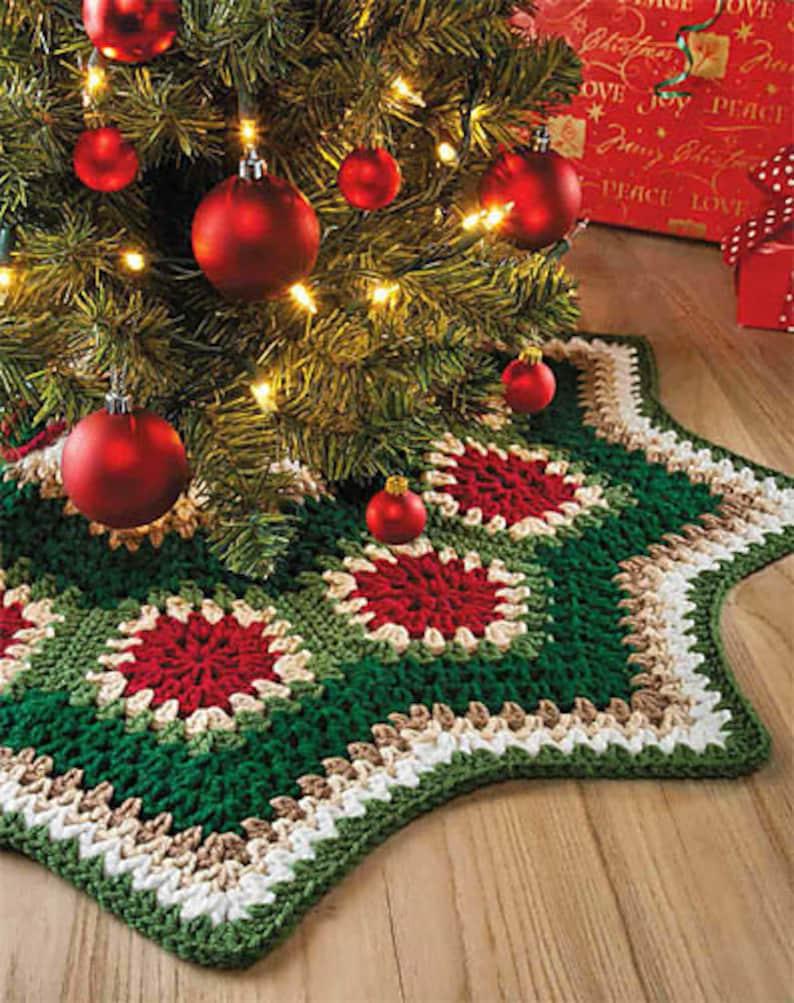 INSTANT DOWNLOAD PDF Vintage Crochet Pattern  Granny Ripple image 0