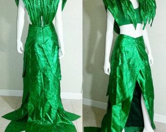 Sample Poison Ivy Halloween Cosplay Fancy costume mardi gras carnival burningman dragoncon