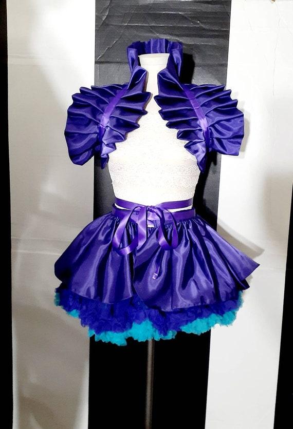 Dance costume collar bolero shrug Manga Cosplay Circus Anime Belle