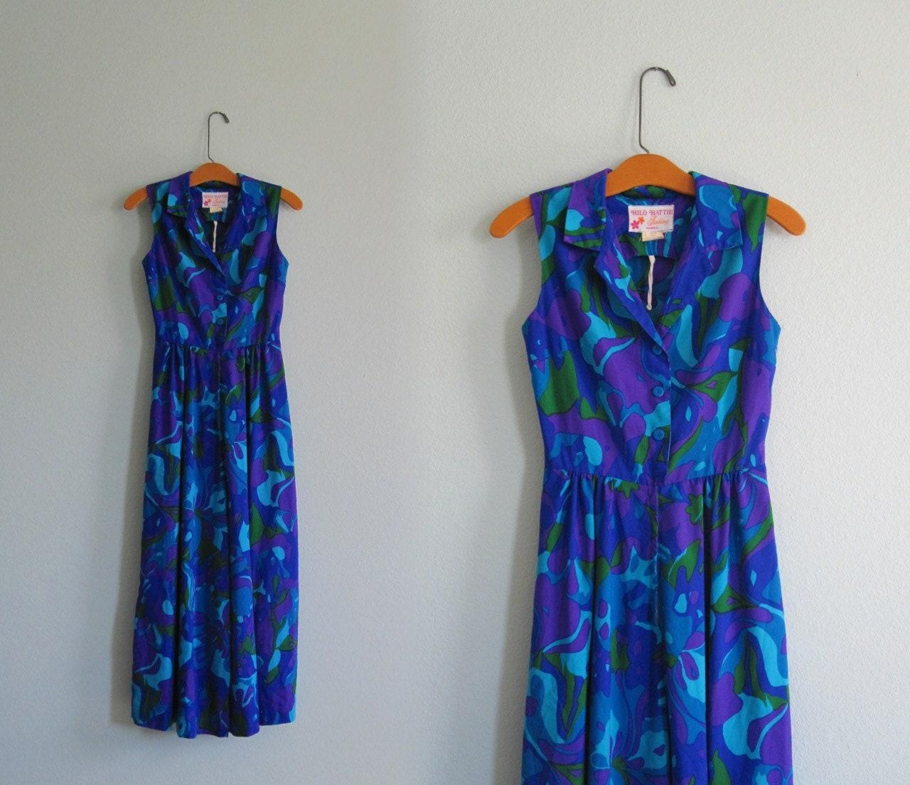 d54bfc5d895 70s Hawaiian Jumpsuit Gorgeous 70s Hilo Hattie Jumpsuit
