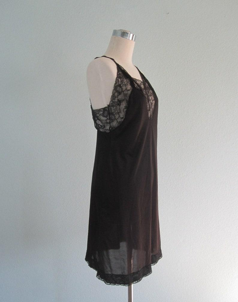 Vintage Black Lace Dress Slip 40s Vanity Fair Slip Vintage 1940s Vanity Fair Slip S Lovely 40s Black Slip by Vanity Fair