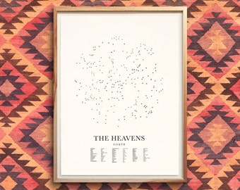 THE HEAVENS (North)