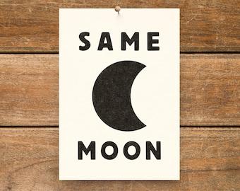 SAME MOON (single)