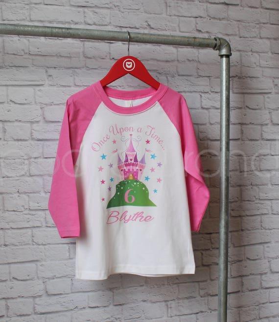Personalized Fairy Tale Birthday Shirt Princess