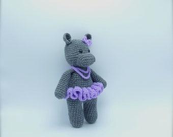 Cuddle Me Hippo amigurumi pattern   Crochet hippo, Amigurumi ...   270x340