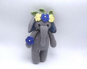 Cuddle Me Elephant 🐘🌸🌼🌺 by talented... - Amigurumi Today ... | 270x340