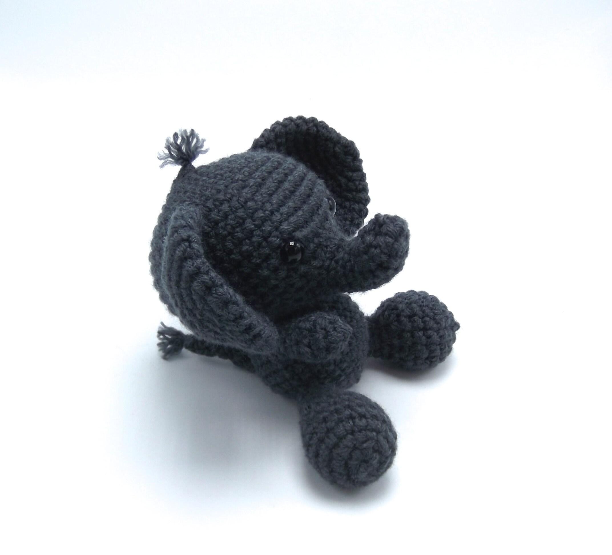 Stuffed Elephant / Crochet Elephant / Amigurumi Elephant /   Amigurumi  elephant pattern, Crochet elephant, Crochet elephant pattern   1945x2144