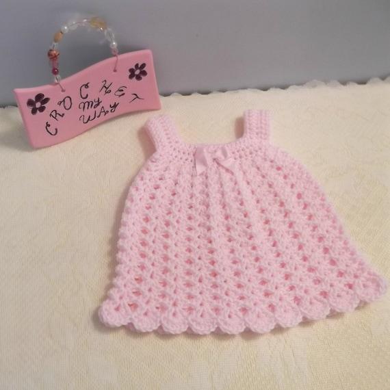 SALE. BABY CROCHET Dress