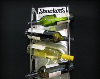 Wichita State University Shockers Stainless Steel Bottle Display 5 Bottle