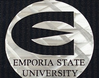 Emporia State University Christmas Ornament 4""