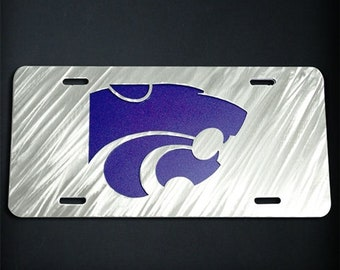 Kansas State Powercat Car Tag