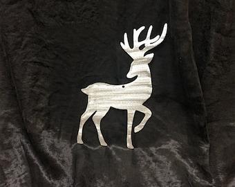 Stainless Steel Reindeer Christmas Ornament