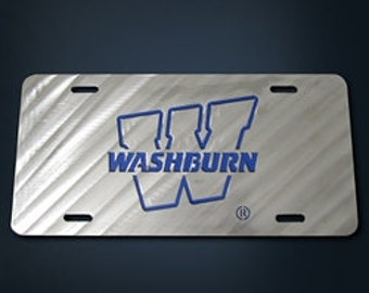 Washburn University License Plate