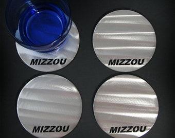 University of Missouri Mizzou Coaster Set (4)