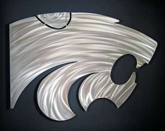 Kansas State Powercat Wall Art 18""