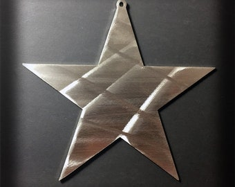 Stainless Steel Christmas Star Ornament
