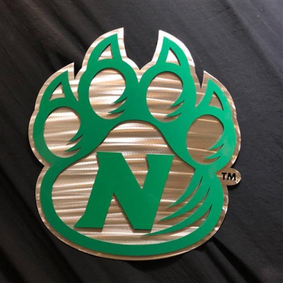 Northwest Missouri State University Bearcats Skirt Green All Over Logo
