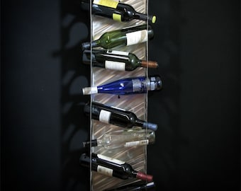 University of Missouri Mizzou 8 Bottle Wine Rack
