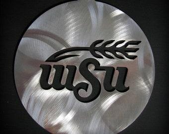 Wichita State University Ornament WSU Shockers Stainless Steel