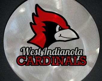 West Indianola Cardinals Christmas Ornament