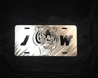 Jeff West Stainless Steel Car Tag