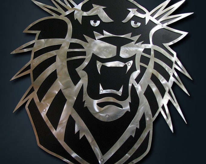 """Featured listing image: Fort Hays State Tiger Wall Art """"18"""