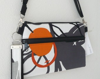 Bitsy Bag, clutch, wristlet, removable strap, cell phone, electronic, purse