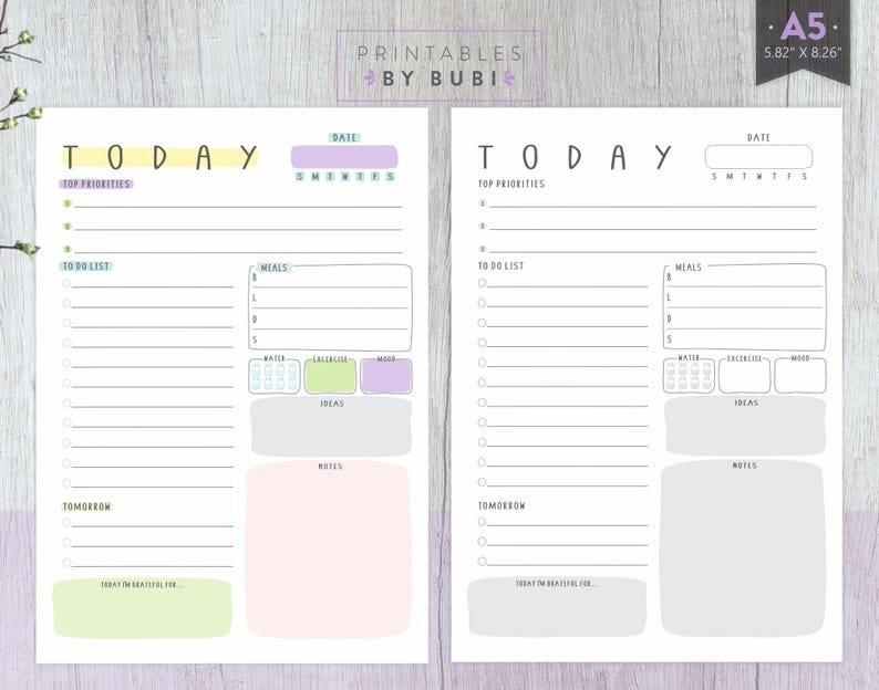 graphic regarding A5 Planner Printables referred to as A5 Planner Inserts Each day Planner Printable A5 Filofax, A5 Planner Refill, Filofax Refill, A5 Planner Internet pages, Working day Planner, Day-to-day Plan