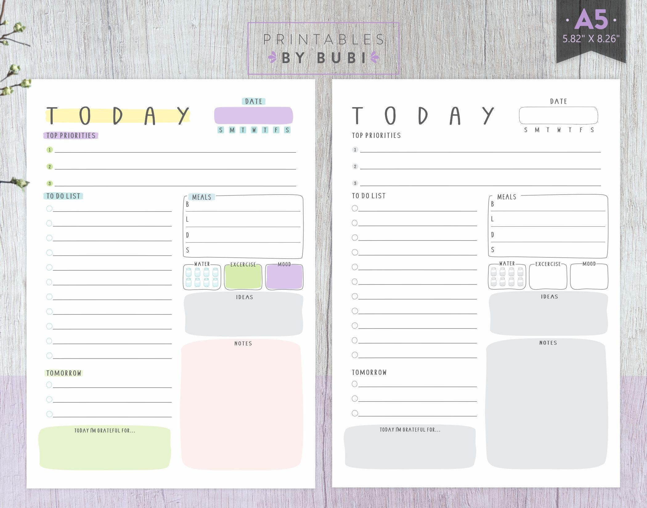 This is a photo of Astounding Planner Inserts Printable