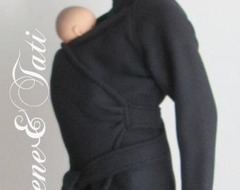 Vegan Maternity Coat, baby Wearing Jacket, babywearing Coat, Eco Friendly Fleece, Made in CANADA, baby Clothes, Baby Carry Coat