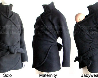 Maternity, no Insert Babywearing Coat, No Insert Baby Wearing Jacket, Maternity Coat, Baby Wearing Coat, Carry Coat. Sling, Wrap, Ergo Baby.